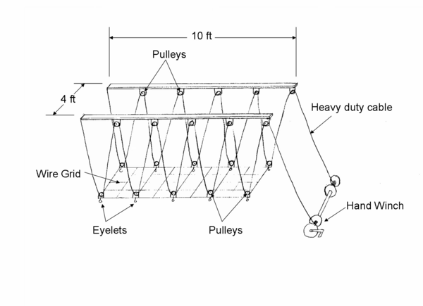 Pulley System To Lift Heavy Objects : Ceiling mounted bicycle lift redesign ddl wiki