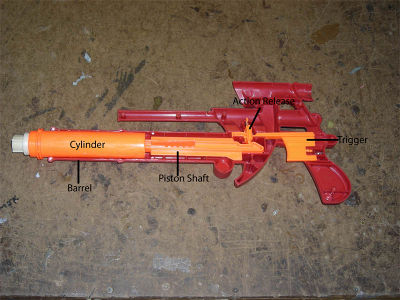 Nerf gun-8. Other local players found out about Alex's modifications, and  they started contacting him to ask if he could print parts for them.
