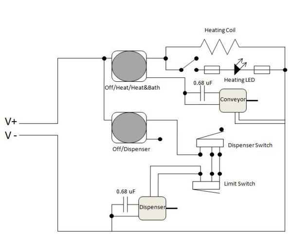Circuit diagram for a coffee maker example electrical wiring diagram starbucks special coffee maker doranev com for rh doranev com arduino circuit diagram maker circuit diagram maker online asfbconference2016 Images